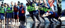 Diving into a New Era: A Cleaner Onondaga Lake Celebrated by Community, State Environmental Commissioner, Elected Officials, Onondaga County, and Honeywell