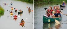 Restored Nine Mile Creek and Onondaga Lake Wetlands Provide Stunning Backdrop for Community Paddle