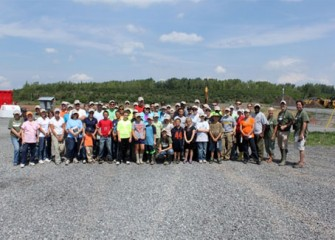 More than 60 community members participated in the Onondaga Lake Conservation Corps' Nine Mile Creek event.