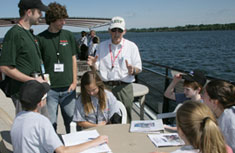 SUNY-ESF Distinguished Teaching Professor Peter Black is one of the students' many teachers.