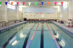 The newly-repaired Solvay-Geddes Community Youth Center pool.