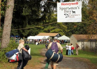 More than 4,500 People Enjoyed Participating in Numerous Outdoor Sports During the 2011 Honeywell Sportsmen's Days.