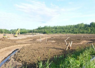 Water will soon flow through the new Geddes Brook wetlands