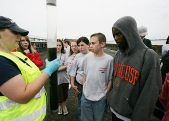 Students Learn about the Science of the Onondaga Lake Cleanup