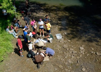 Summer Scientists Share their Findings from Onondaga Creek