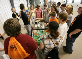 Students Experience Demonstrations at the Ground Water Treatment Plant