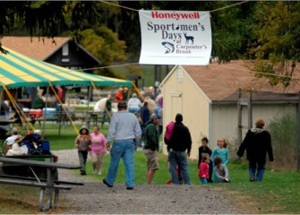 More than 4,000 People Enjoyed Activities During the 2010 Honeywell Sportsmen's Days at Carpenter's Brook