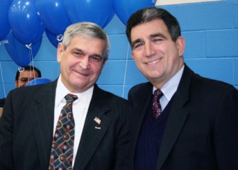John DeSpirito and Assemblyman William Magnarelli