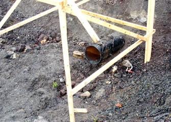 I-690 Metal Pipe Casing
