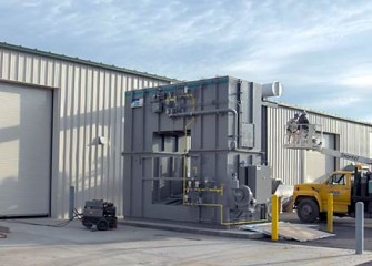 Treatment Plant Thermal Oxidizer
