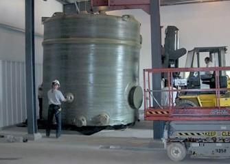 Groundwater Treatment Tank