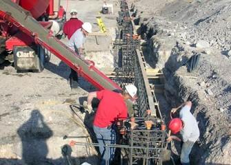 Plant Foundation Construction