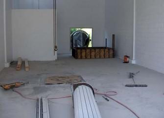 Inside Pump House after Renovation