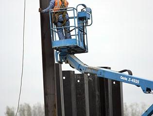 Barrier Wall Installation