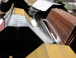 Barrier Wall Steel Panels