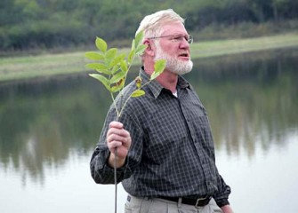 McMullen Holds Native Plant Species