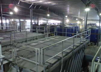 Water treated at the water treatment plant will meet Onondaga County standards.