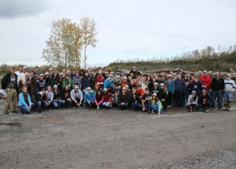 Eighty-six volunteers from Central New York participated in the third Onondaga Lake Conservation Corps stewardship event at Nine Mile Creek and the Geddes Brook wetlands on Saturday, October 20.