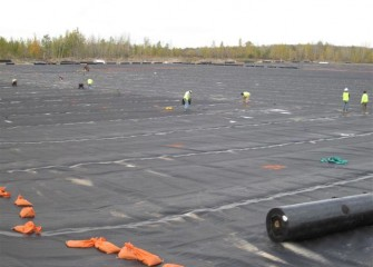Technicians Inspect and Test the Liner After Installation