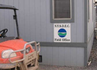 The New York State Department of Environmental Conservation Maintains a Field Office on Site