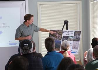 Ryan Davis, Ph.D., senior managing scientist at Anchor QEA, describes enhancements made at the Geddes Brook Wetland and Nine Mile Creek.