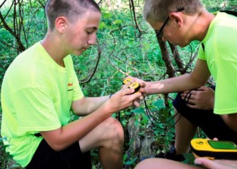 Geocaching provides students the experience of learning to locate a position using latitude and longitude coordinates.