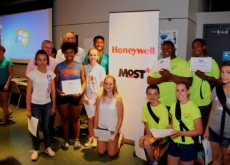 Honeywell Summer Science Week at the MOST is sponsored by Honeywell Hometown Solutions, Honeywell's corporate citizenship initiative which, among other areas, focuses on Science & Math Education as an area of vital importance.
