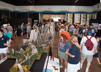 Other exhibit partners include Onondaga Historical Association, Audubon New York, New York State Department of Environmental Conservation, COR Development, Destiny USA, O'Brien & Gere, Morrisville State College, and the Museum of Science & Technology.