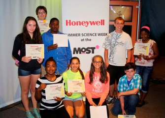 Honeywell Summer Science Week at the MOST is sponsored by Honeywell Hometown Solutions, Honeywell's corporate citizenship initiative.