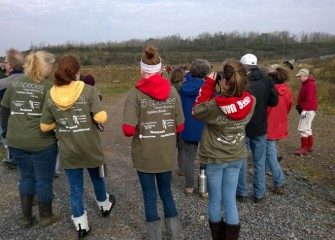 Environmental stewards of all ages fanned out to add more native plants and observe some of the 65 fish and wildlife species now inhabiting the restored Geddes Brook wetlands.