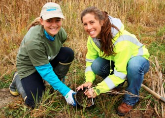 To date, over 500 volunteers have joined grassroots efforts by the Onondaga Lake Conservation Corps to improve habitat for a diverse population of fish, birds, and mammals.