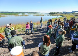 Onondaga Lake Conservation Corps held its 16th event on Saturday, Sept. 24, to improve habitat in the Onondaga Lake watershed.