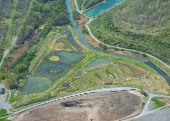 Habitat restoration at upland sites, such as Geddes Brook Wetlands, is part of a comprehensive approach to the cleanup of Onondaga Lake.
