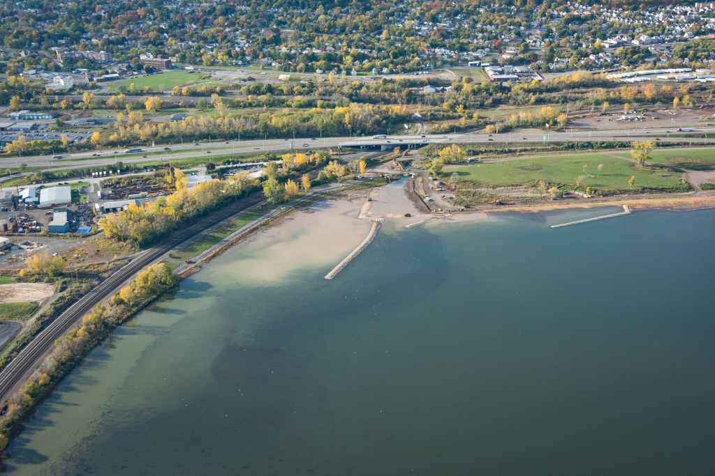 Dredging and Capping   Onondaga Lake Cleanup