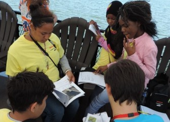 Students become familiar with a field guide of information about the Onondaga Lake watershed. Students will use their workbooks to record observations throughout the week.