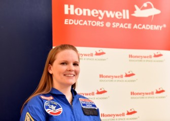 """I am looking forward to participating in the hands-on activities at Honeywell Educators @ Space Academy,"" said Sara Pieklik, Liverpool Middle School."
