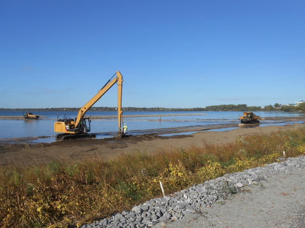 Dredging and Capping | Onondaga Lake Cleanup