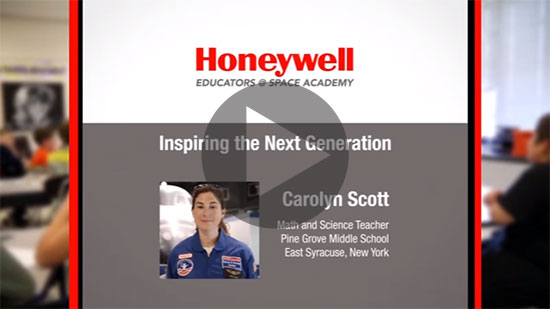 Watch a video about how HESA helped a Central New York teacher inspire her students.