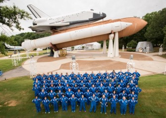 The 2017 class of Honeywell Educators at Space Academy (HESA) at the U.S. Space & Rocket Center (USSRC) includes four teachers from Central New York.