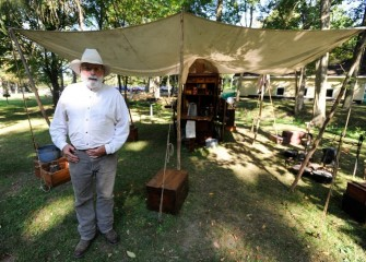 Honeywell Sportsmen's Days also included various living history displays.