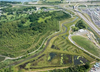 Twenty-one acres have been restored at Geddes Brook, including more than 13 acres of wetlands.