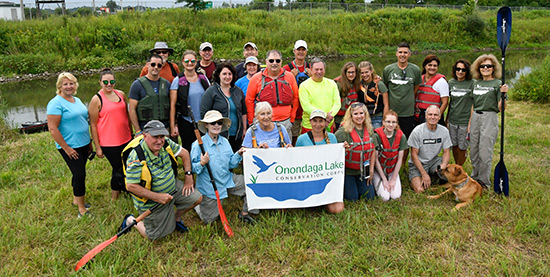 Since the formation of the Corps, 21 events have brought together more than 800 volunteers who have become environmental stewards and Corps members. In recognition of their work, the Onondaga Lake Conservation Corps was awarded a U.S. Environmental Protection Agency 2015 Environmental Champion Award.