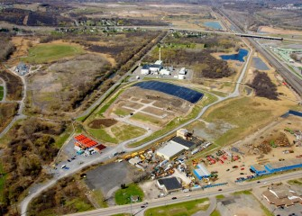 Work progresses at former LCP site