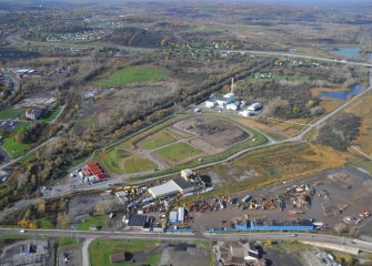 Work continues at former LCP site