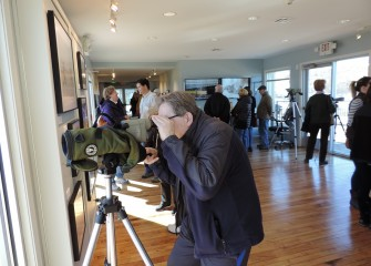 "Nearly 400 Central New Yorkers viewed images of birds and other wildlife at the ""Nature's Resurgence at Onondaga Lake"" photography exhibit March 24-25."