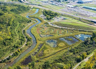 The Geddes Brook Wetlands were restored in 2012 and continue to thrive. They are now home to more than 185 distinct fish and wildlife species.